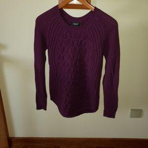Purple Knit Sweater